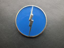 1980s Lightning Bolt Broach/Pin