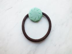 Mint Sherbet Hair Scrunchie