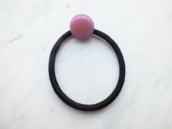 Grape Color Hair Scrunchie