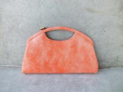 1960s Peach Clutch Bag