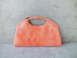 1960s Peach Clutch Bag