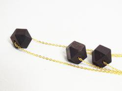 Chocolate Wood Necklace