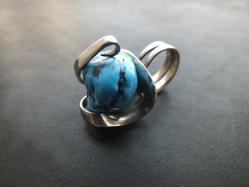 Howlite Turquoise Ring