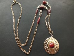 Sarah Coventry Circle Necklace