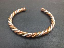 Gold+Silver+Bronze Bracelet