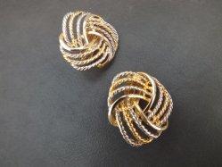 Gold×Silver Earring