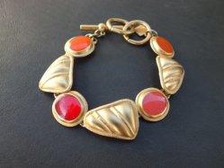 Red+Orange+Pink Bracelet