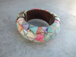 Triangle Pattern Bangle