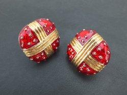 Strawberry Motif Earring