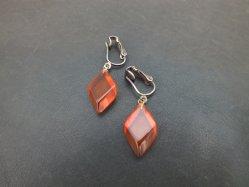 Lozenge Pierced Earring
