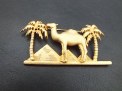 Camel Motif Broach