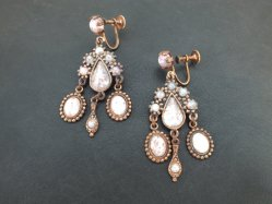Bronze×Pink Earring
