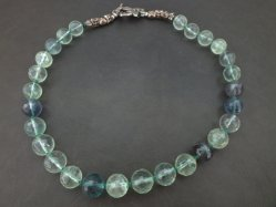 Blue×Green Glass Necklace