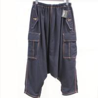 【レディース】 tricot Comme des Garcons パンツ 紺 毛100%