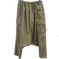 【レディース】 tricot Comme des Garcons パンツ カーキ 毛100% CdG-TL-P021-051-3