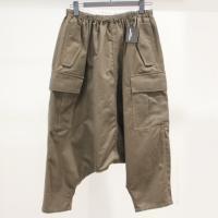 【レディース】 tricot Comme des Garcons パンツ カーキA 綿100% CdG-TL-P023-051-1