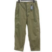 【レディース】 tricot Comme des Garcons パンツ カーキ 綿100% CdG-TL-P005-051-3