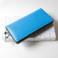 Wallet Comme des Garcons 財布 二つ折りZIP長財布 ブルー SA0110SF-2-1 8F-D011-051-2-1<img class='new_mark_img2' src='//img.shop-pro.jp/img/new/icons15.gif' style='border:none;display:inline;margin:0px;padding:0px;width:auto;' />