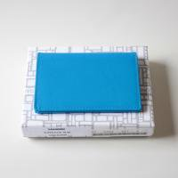 Wallet Comme des Garcons 名刺入れ 二つ折り名刺入れ ブルー  SA6400SF-2 8F-D064-051-2-1