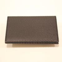 【ユニセックス】 Wallet COMME des GARCONS 名刺入れ ブラック LUXURY LINE