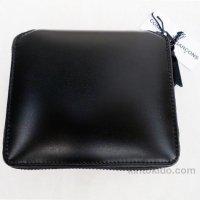 【ユニセックス】 Wallet COMME des GARCONS 二つ折りZIP財布 ベリーブラック SA0210VB 8I-D210-051-1