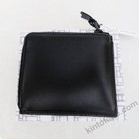 【ユニセックス】 Wallet COMME des GARCONS L字型ZIP財布 ベリーブラック SA3100VB 8I-D310-051-1