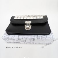 COMME des GARCONS 財布3ポケット(短) スタッズ  STUDS WALLET SAJ11P3S 8Z-K304-051-1
