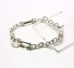 Silver925 3シャックル チェーンブレスレット<img class='new_mark_img2' src='https://img.shop-pro.jp/img/new/icons14.gif' style='border:none;display:inline;margin:0px;padding:0px;width:auto;' />