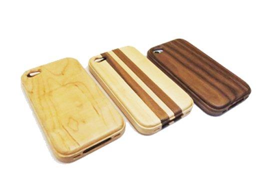 iphone4 4s 専用木製ケース