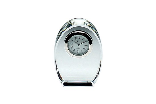 しずく型ブロック時計