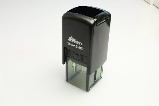 角型スタンプ・ゴム印 20mm