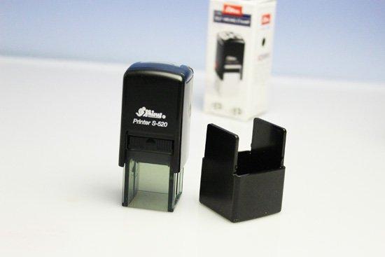 角型スタンプ・ゴム印 20mm3