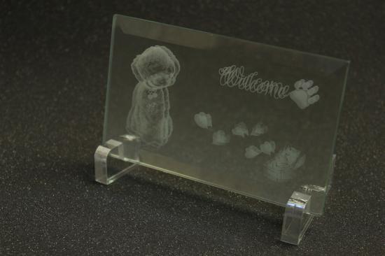 石材・ガラス・タイル素材への写真彫刻・刻印 御影石5