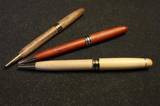 名入れボールペン木製
