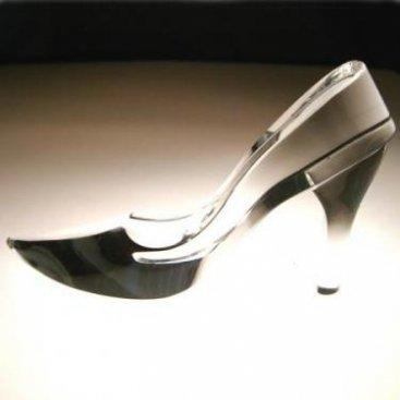 ガラスの靴 (名入れ可)3