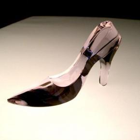 ガラスの靴 ピンク