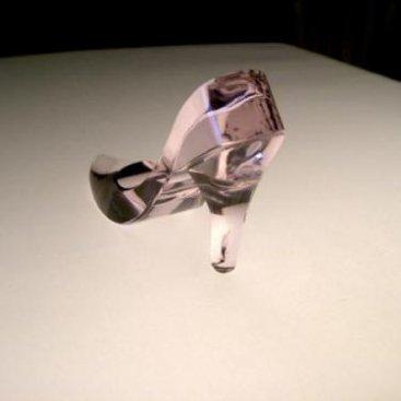 ガラスの靴 ピンク3
