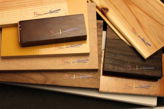 木材への印刷名入れ加工