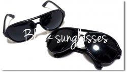 プレゼントに最適!Black Sunglasses