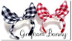 Gingham Bunny*A