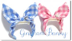 <img class='new_mark_img1' src='https://img.shop-pro.jp/img/new/icons55.gif' style='border:none;display:inline;margin:0px;padding:0px;width:auto;' />新色!Gingham Bunny*B