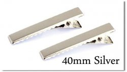 プラバレッタ40mm→ ワニピン40mm:Silverへ変更