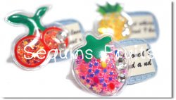 Sequins Fruits