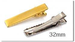 プラバレッタ → ワニピン(32mm:Silver)へ変更