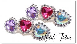 Heart tiara*Purple Cherry  Aurora