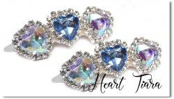 Heart tiara*Blue Aurora