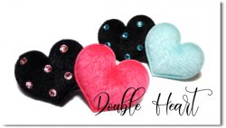 Double Heart*black