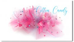 Cotton Candy*bluepink