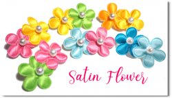 Satin Flower*You can customize!