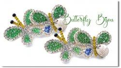 Butterfly Bijou*green